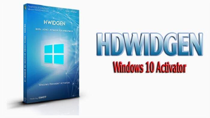Phần mềm Crack Win 10 HWIDGen 62.01